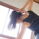 今日のヨガの練習。カラダが動きたいように動く練習。