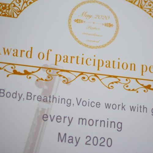 新しくはじめたこと – 身体と呼吸と声のワーク & インド古典音楽のラーガ –